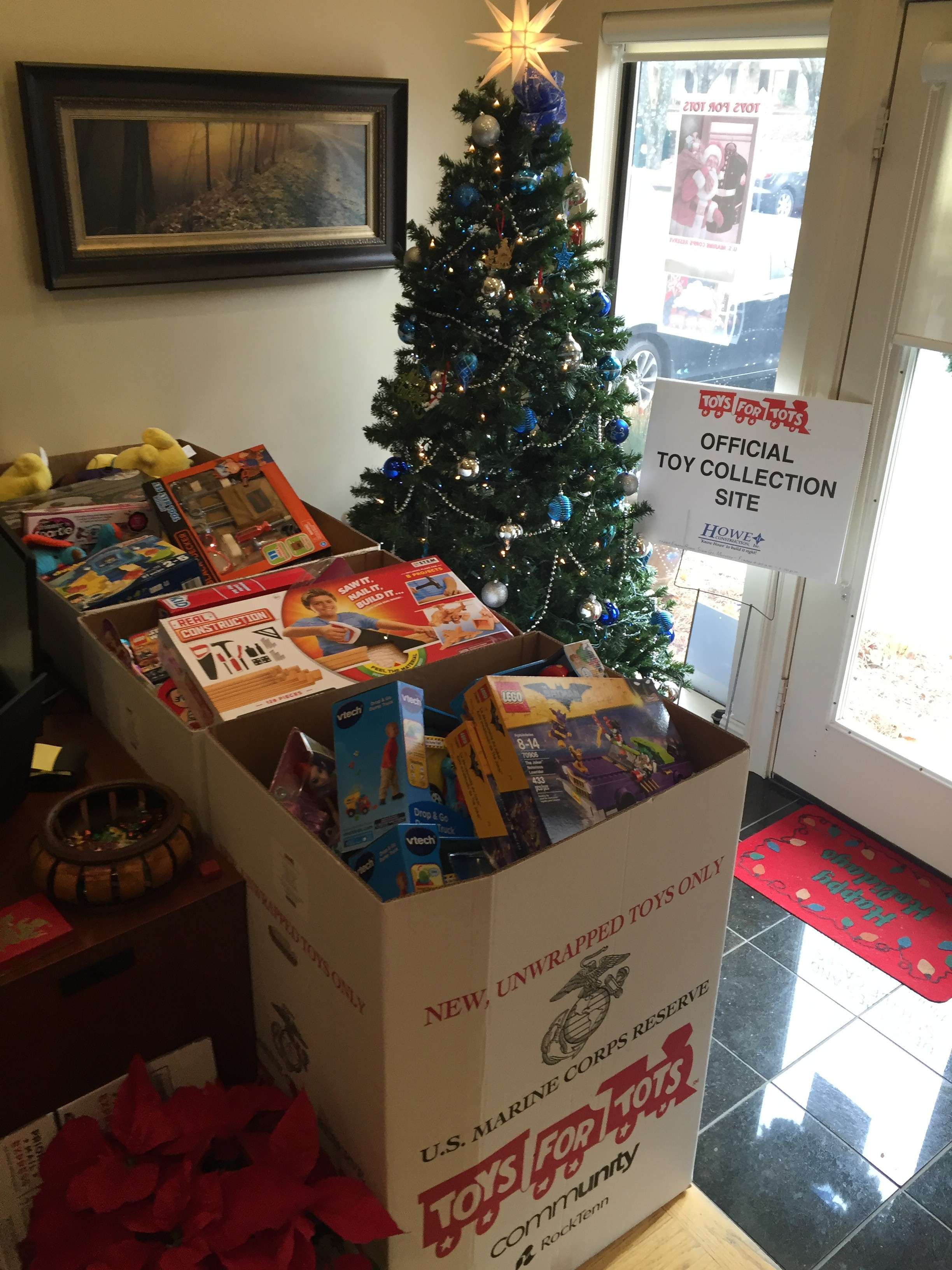 Toys For Tots Box : Toys for tots donation howeconstruction