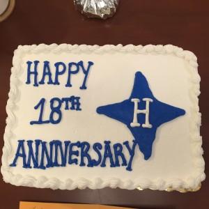 HCI 18th Anniversary